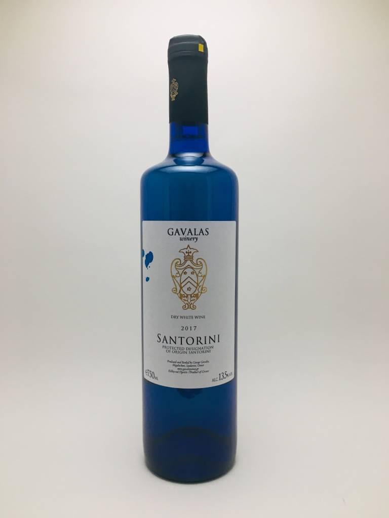 Gavalas Winery Yannis White Santorini Greece 2019