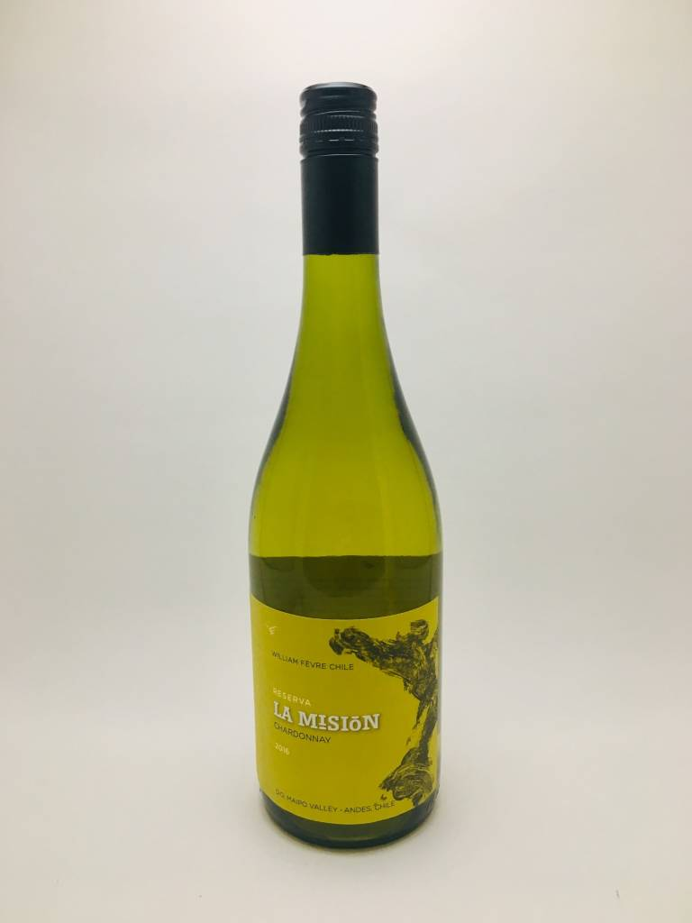 William Fevre Chile la Mission Reserve Chardonnay 2015