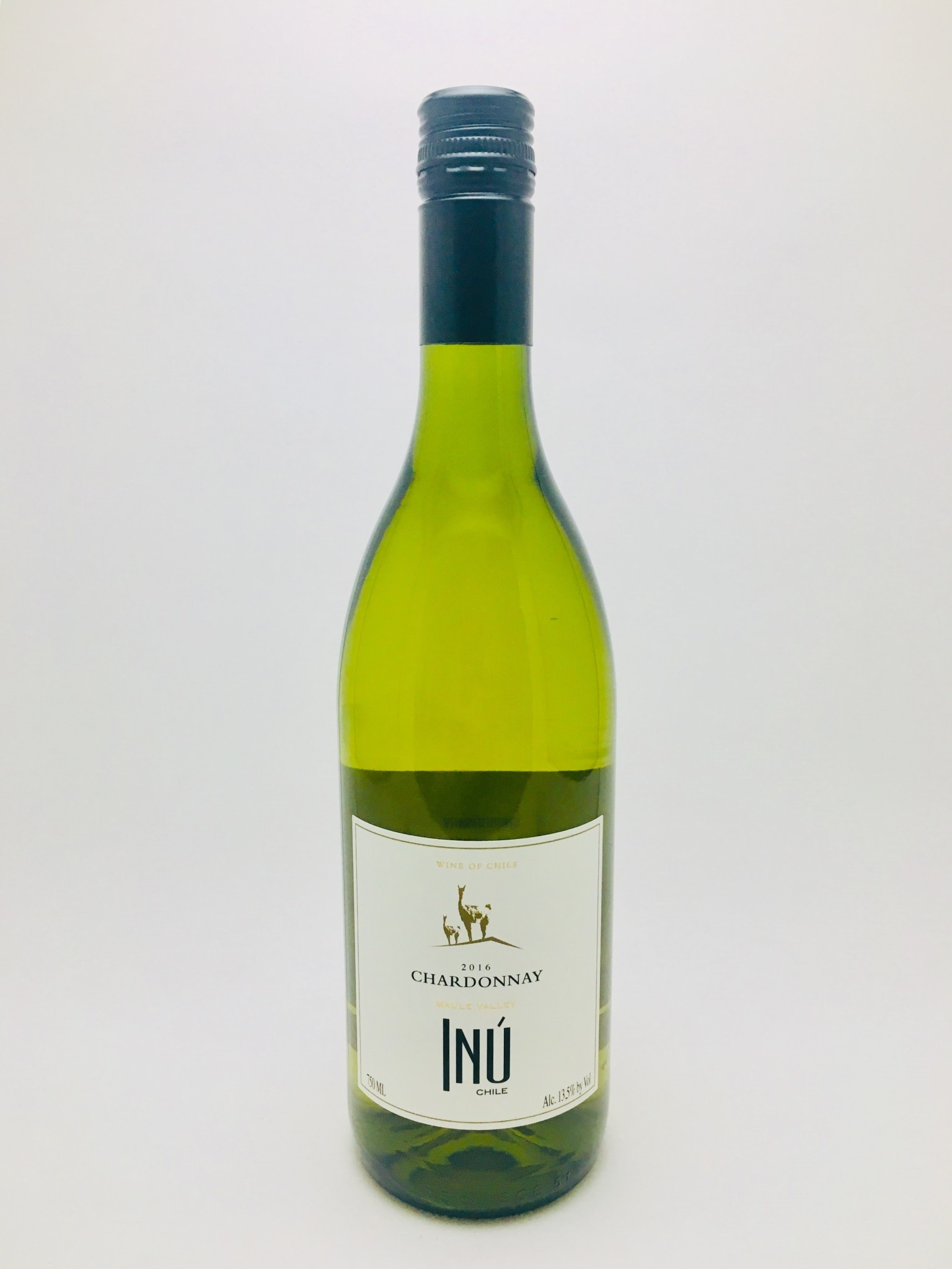 Inu Chardonnay Maule Valley Chile 2016