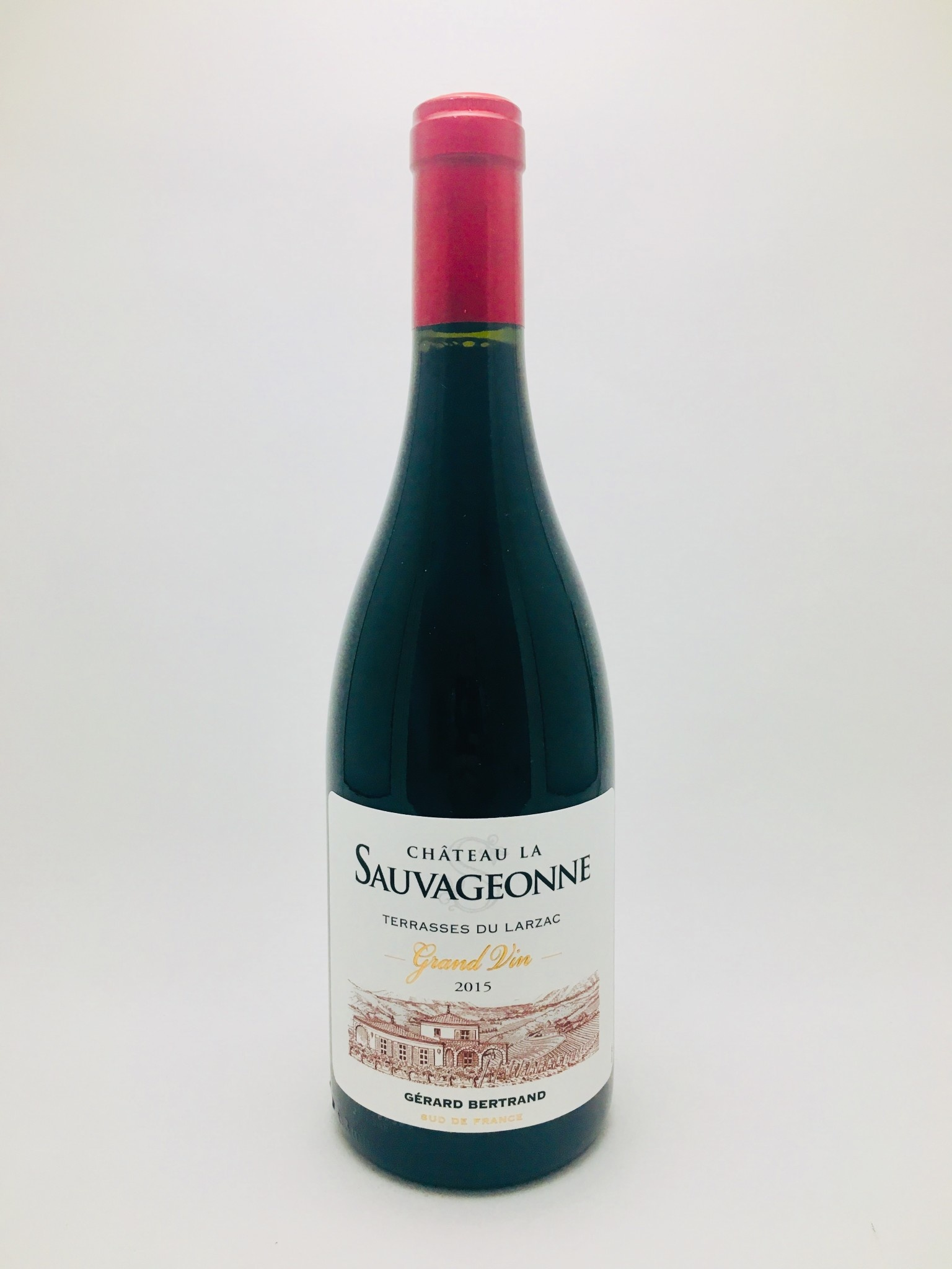 Gerard Bertrand Chateau La Sauvageonne Grand Vin Rouge Languedoc France 2015