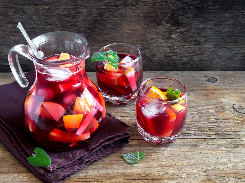 Sangria – olé in a glass!