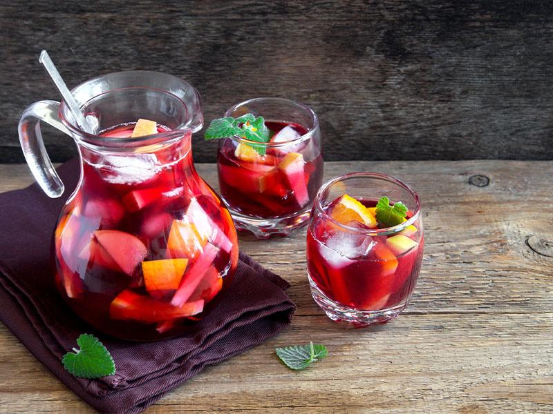 Sangria – olé in a glass!