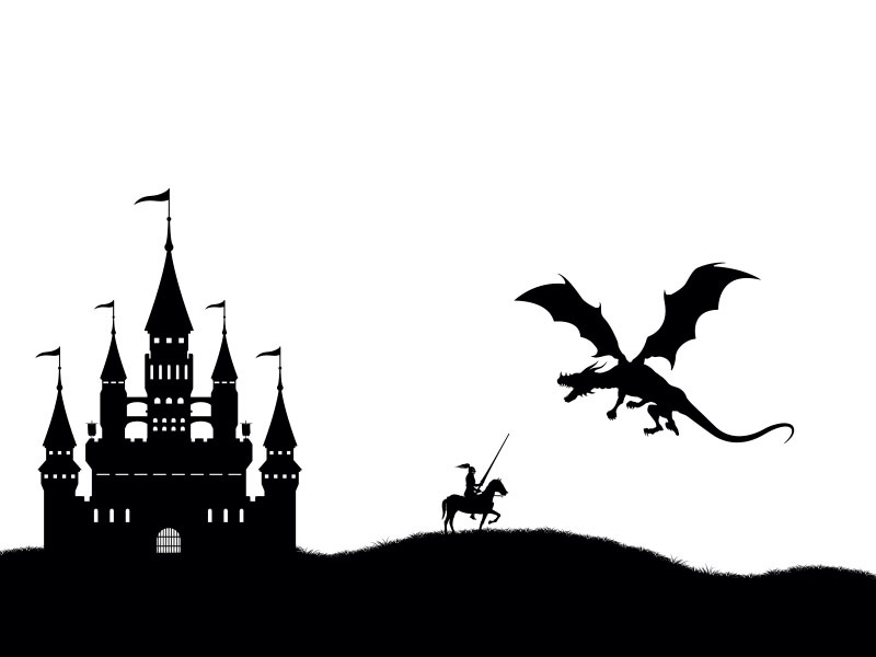 The Castle, The Dragon and The Vine