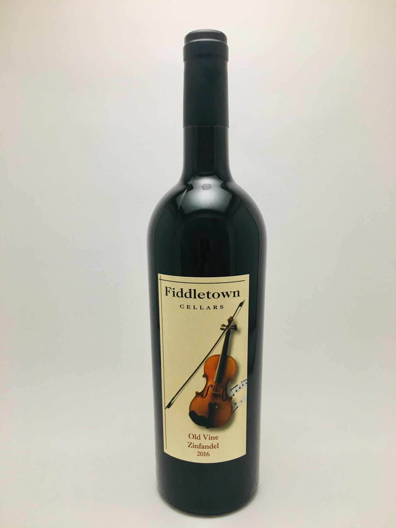 Fiddletown Cellars Old Vine Zinfandel 2016