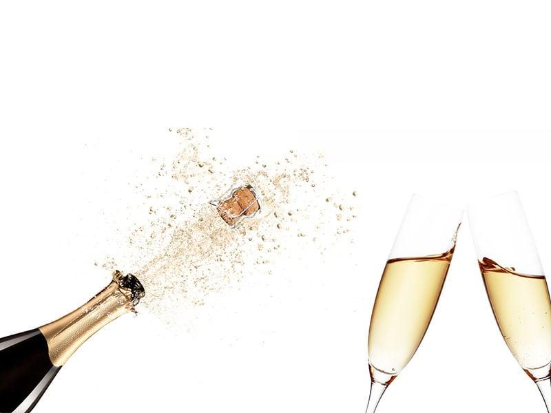 """""""Come quickly, I am tasting the stars!"""" — Dom Pérignon"""