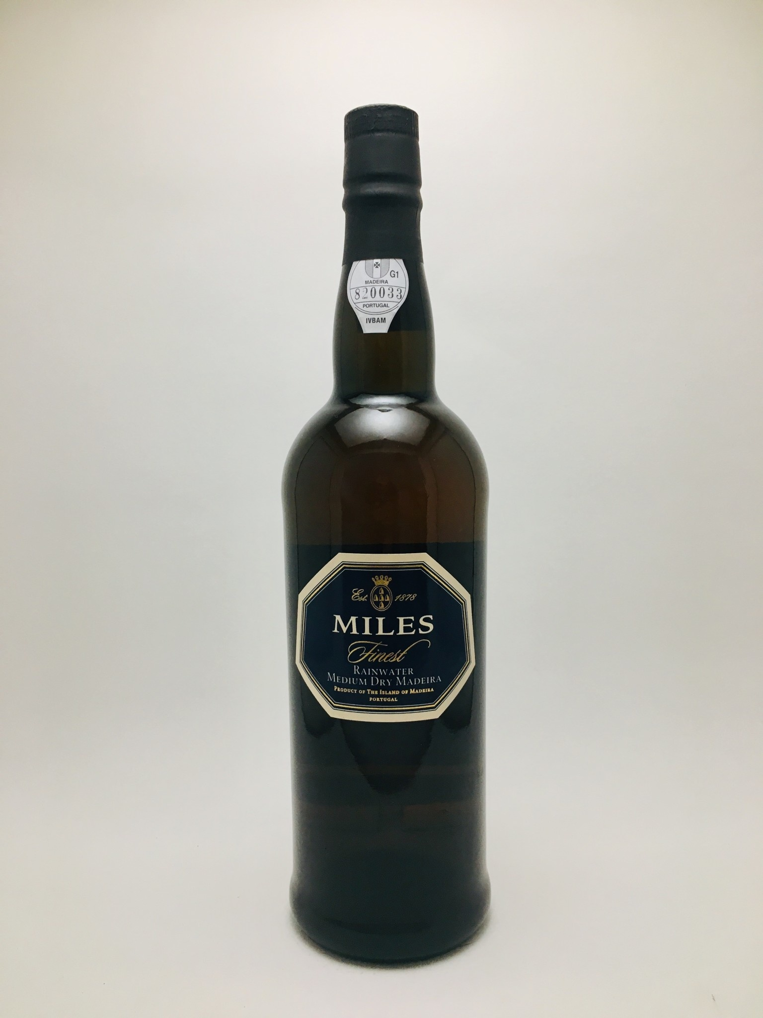 Miles Rainwater Medium Dry Madeira Portugal NV