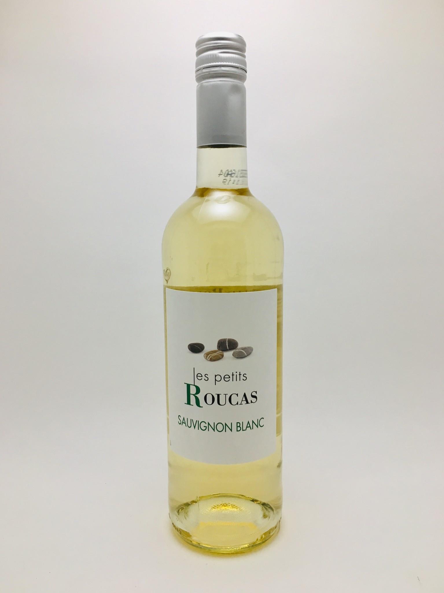 Les Vignobles Foncalieu Les Petits Roucas Vin de Pays d'Oc Sauvignon Blanc 2018