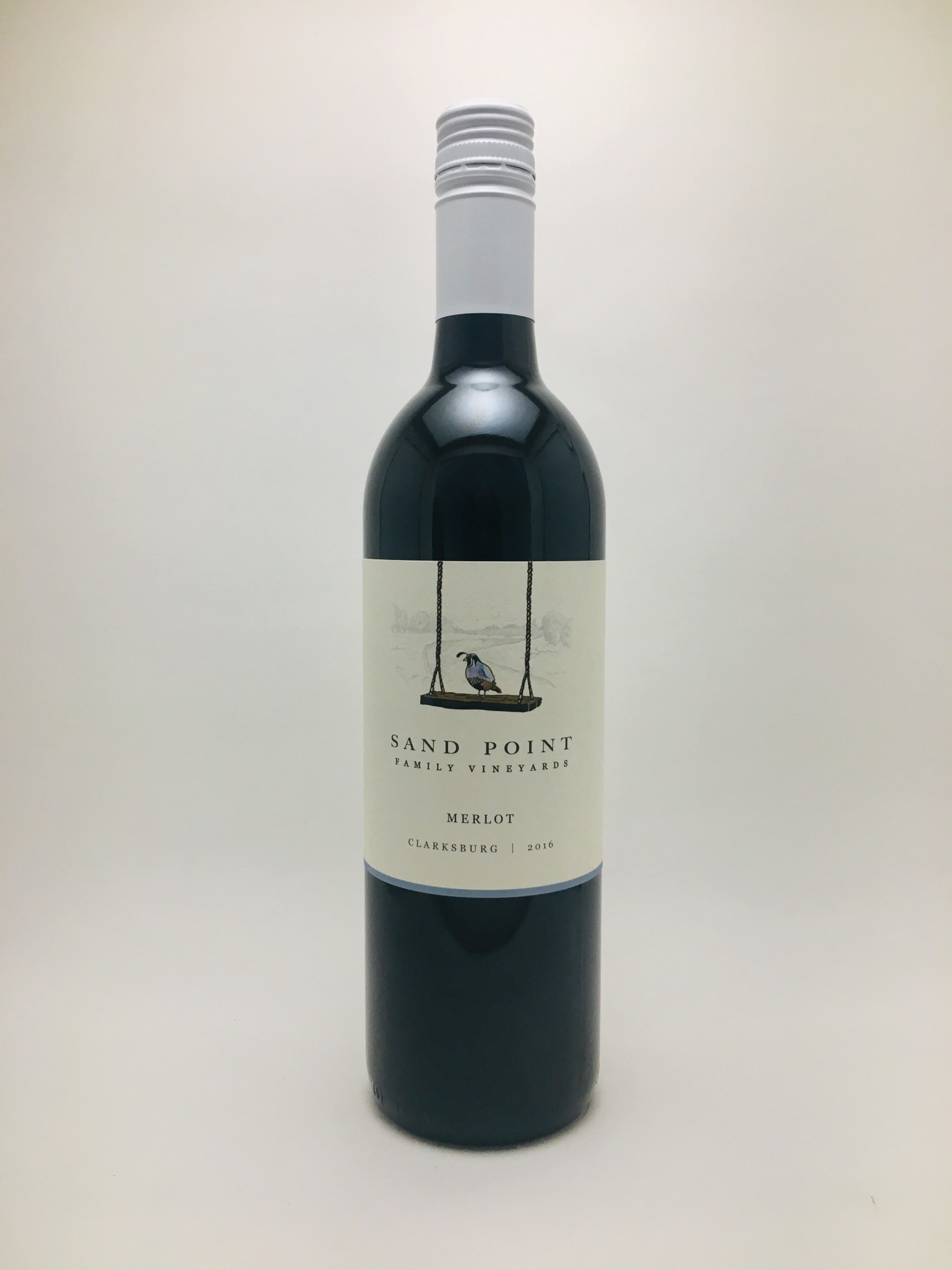Sand Point Clarksburg CA Merlot 2016