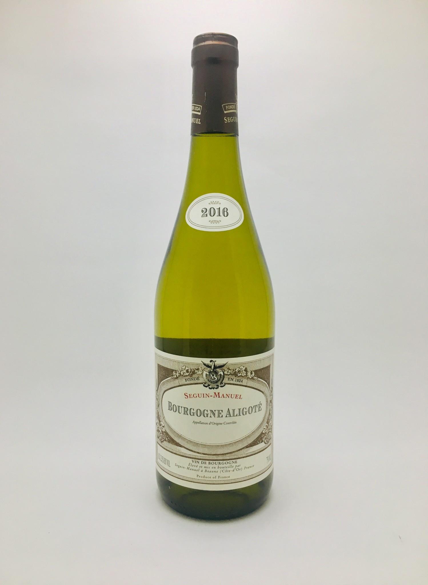 Domaine Seguin-Manuel Aligoté Bourgone France 2018