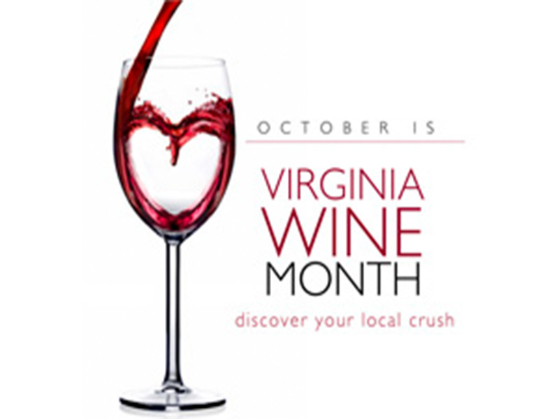 Welcome to October and Virginia Wine Month
