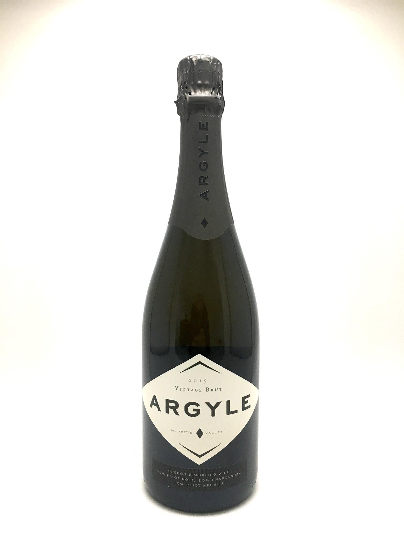 Argyle Winery, Vintage Brut Grower Series Willamette Valley 2015
