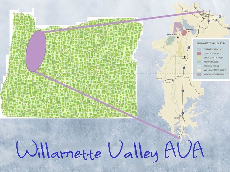"Willamette ""Will-AM-It"" Valley"