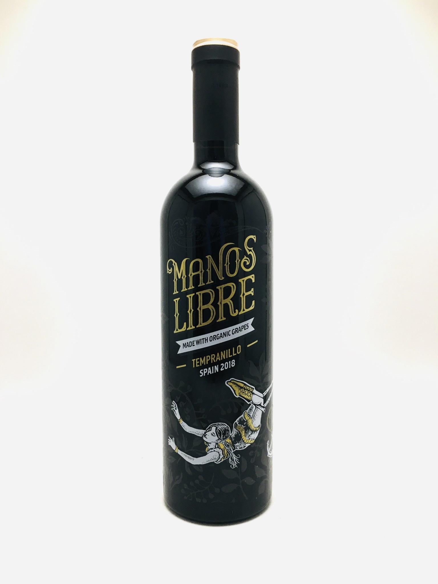 Hammeken Cellars ''Manos Libre'' La Mancha 2018