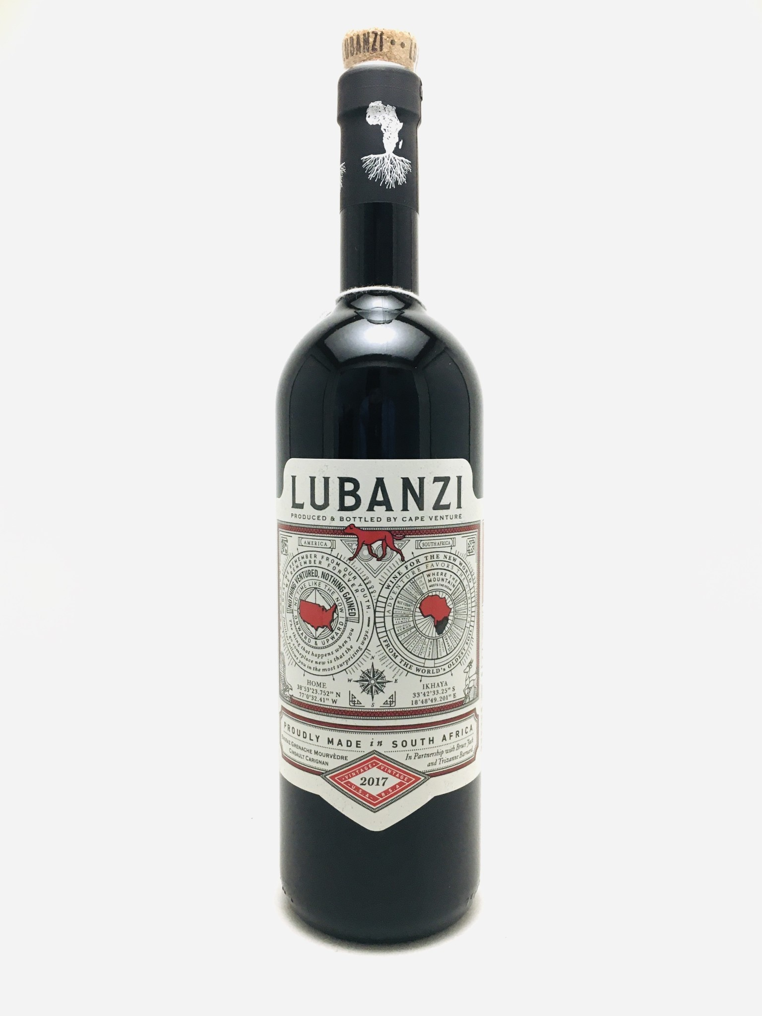 Lubanzi Red Blend Coastal Region South Africa 2019