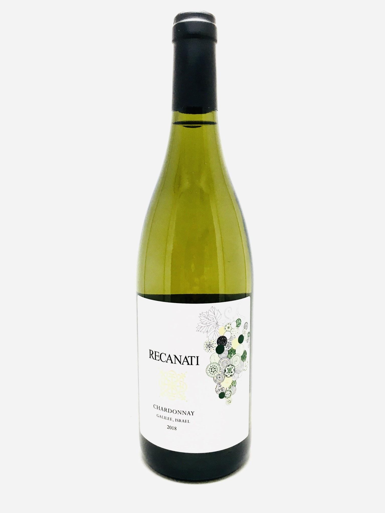 Recanati Chardonnay Galilee Israel 2018