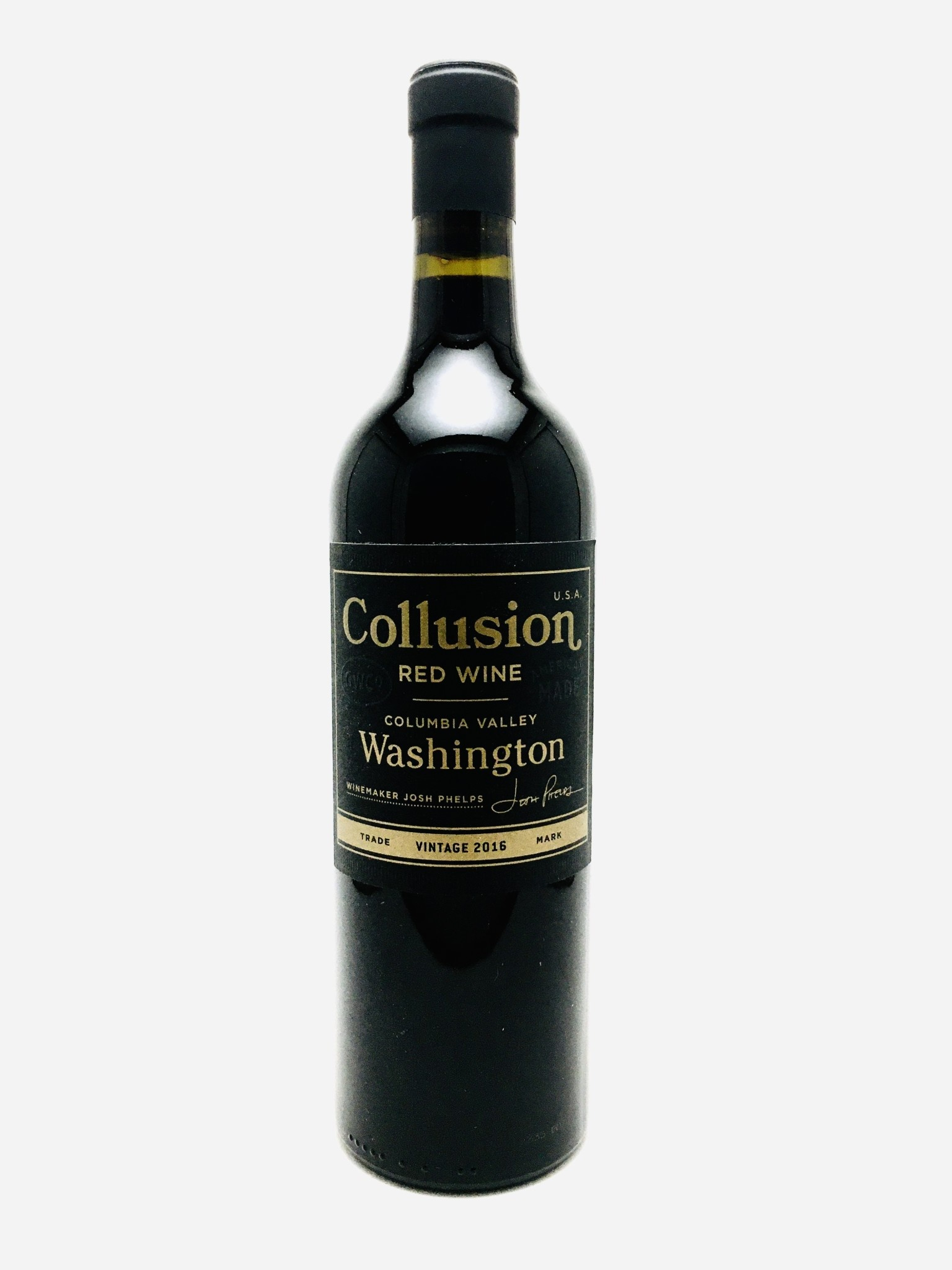 Grounded Wine Co Collusion Columbia Valley Washington 2017