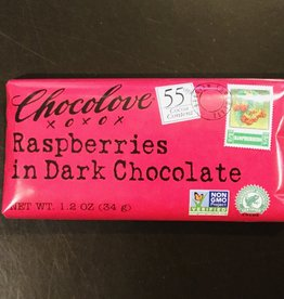 Chocolove Mini Raspberries in Dark Chocolate 1.2 oz