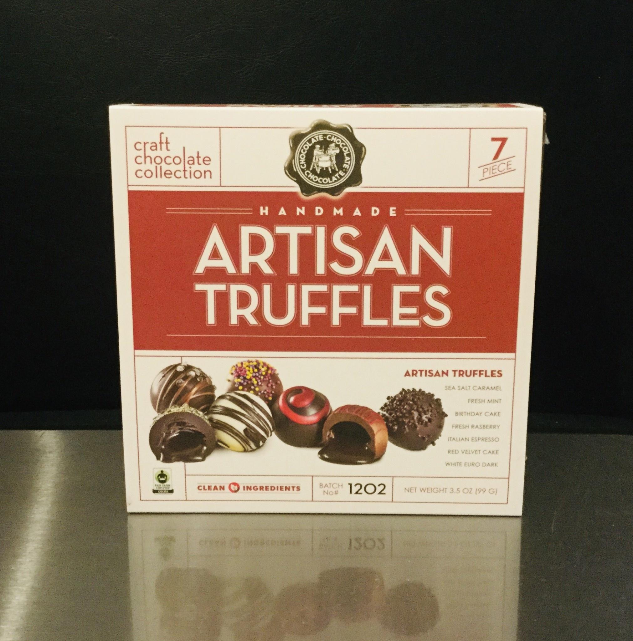 Artisan Chocolate Truffle Collection