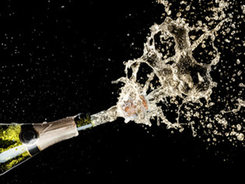 Champagne Celebrations: Christening a Ship & A Shower for Race Winners