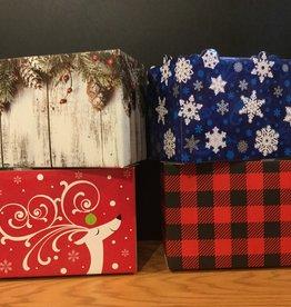 Gift Basket Box Large (Christmas/Winter)