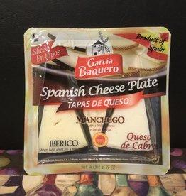 Cheese Garcia Baquero Tapas de Queso Spanish Manchego Cheese Plate approx. 5 oz