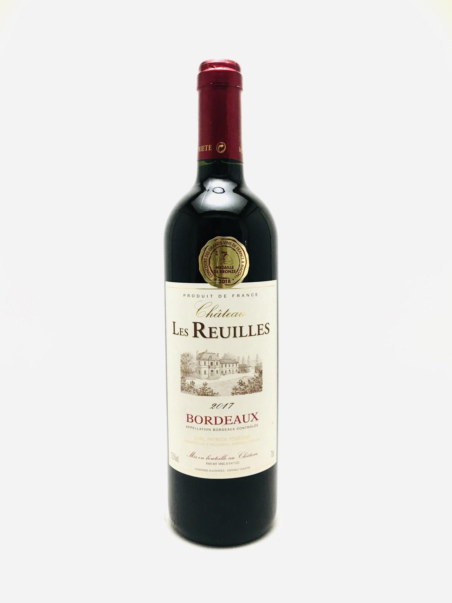 Château Les Reuilles Bordeaux France 2017