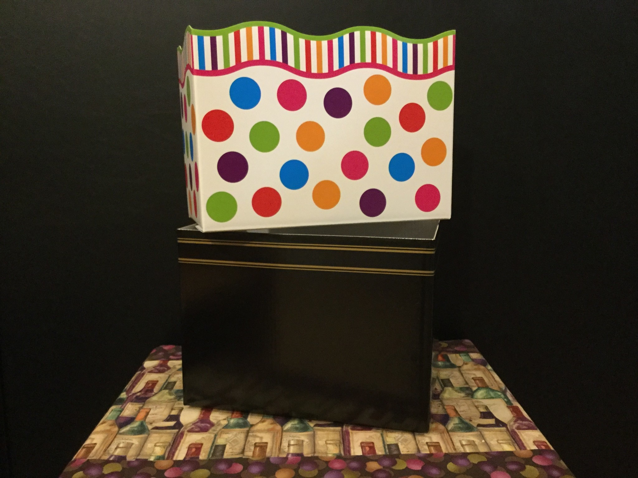 Gift Basket Box Large (Serious & Fun)