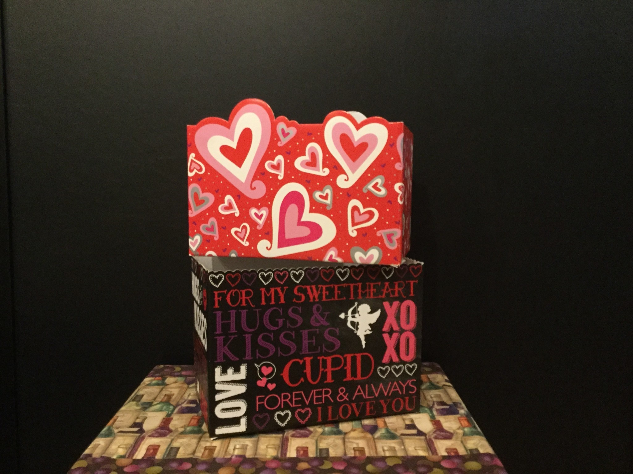 Gift Basket Box Large (Love/Valentines)
