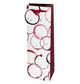 Wine Gift Bag Glass Stain Ring