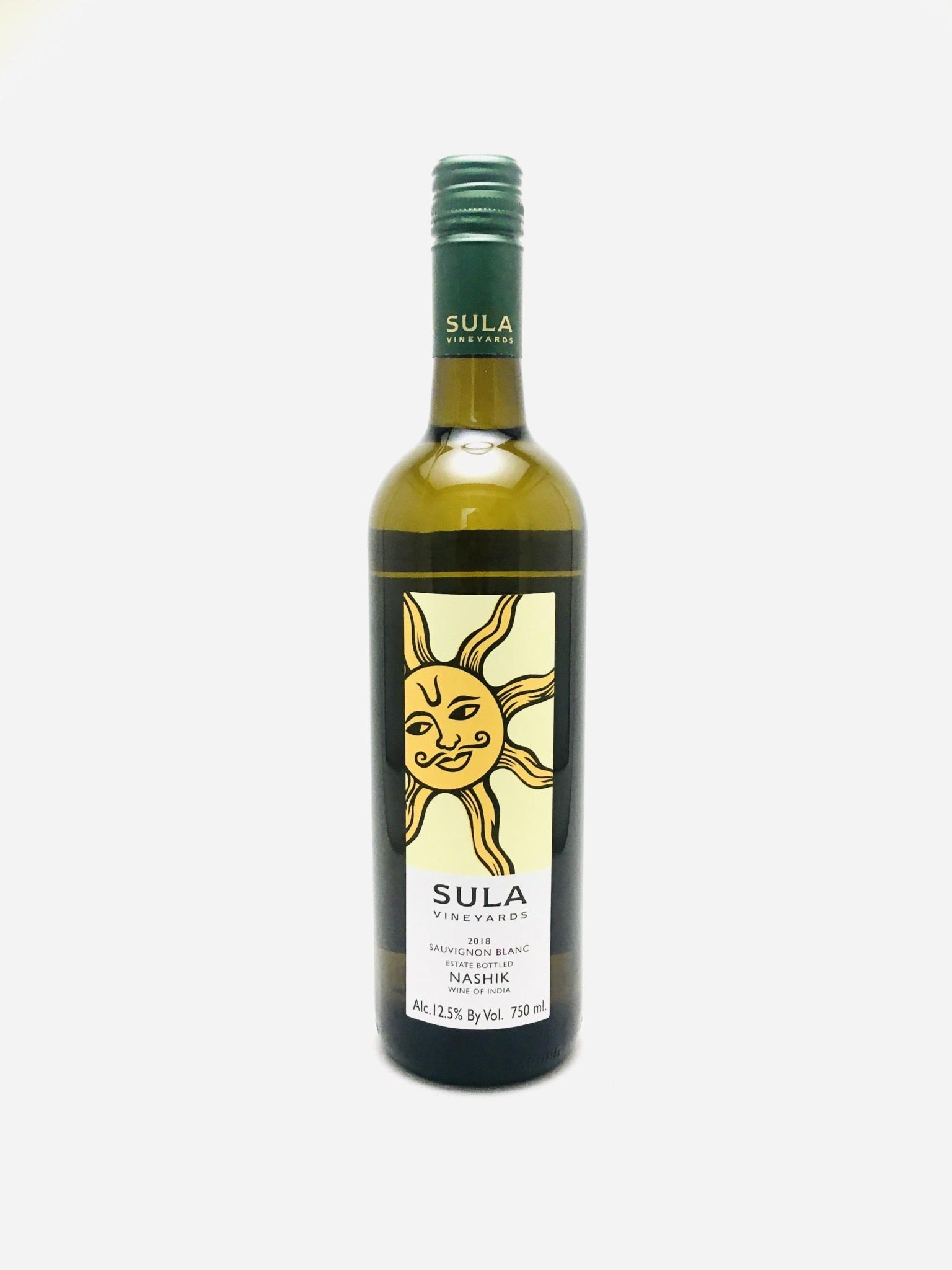 Sula Vineyards Sauvignon Blanc Estate Bottled Nashik India 2018