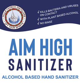 Aim High Bulk Hand Sanitizer 1oz (70% ABV)