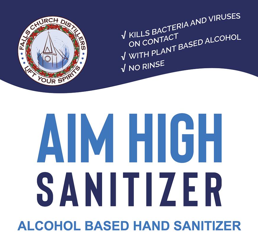 Aim High Bulk Hand Sanitizer 1oz (70% ABV)