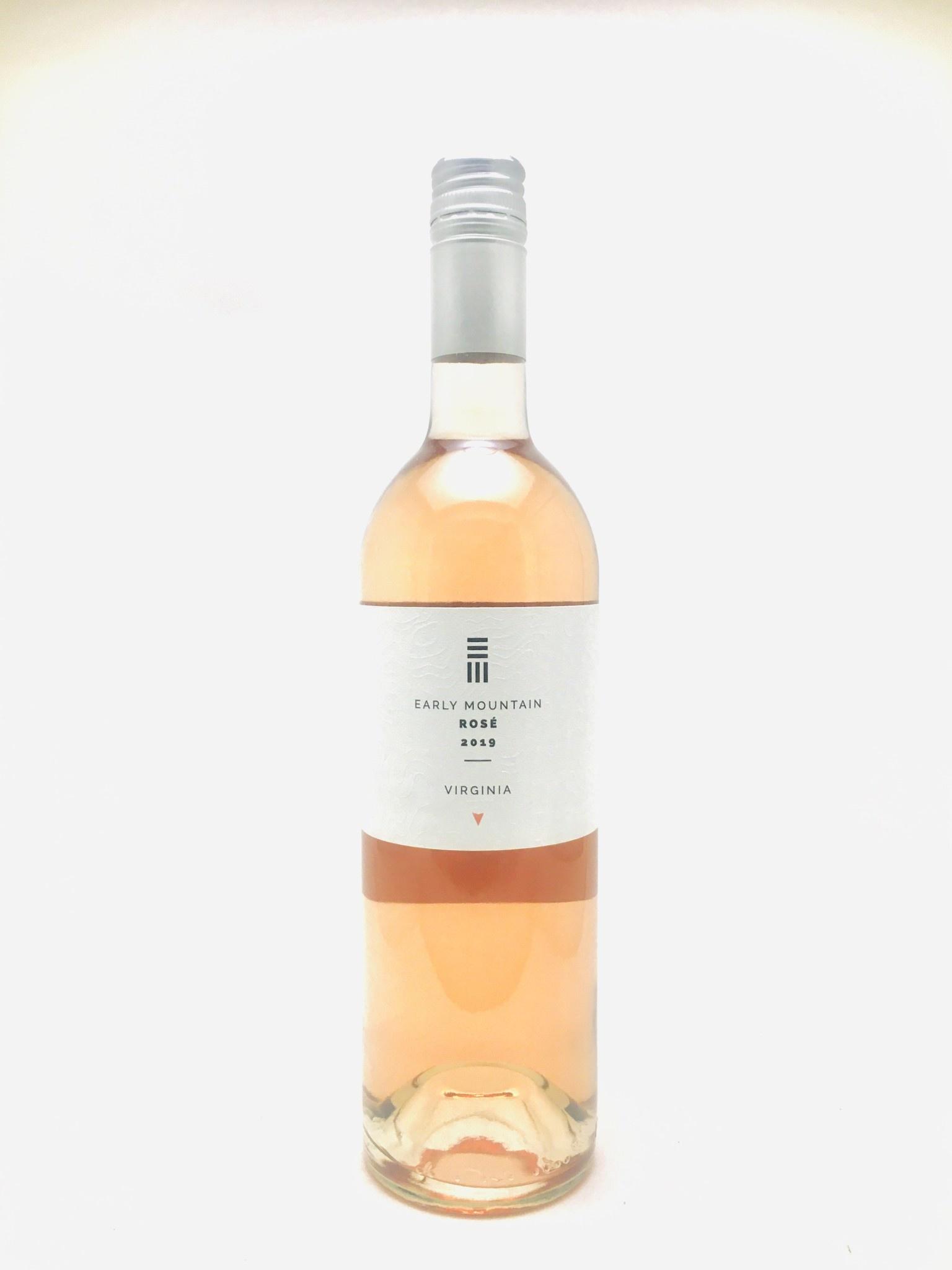 Early Mountain Rosé Virginia 2019