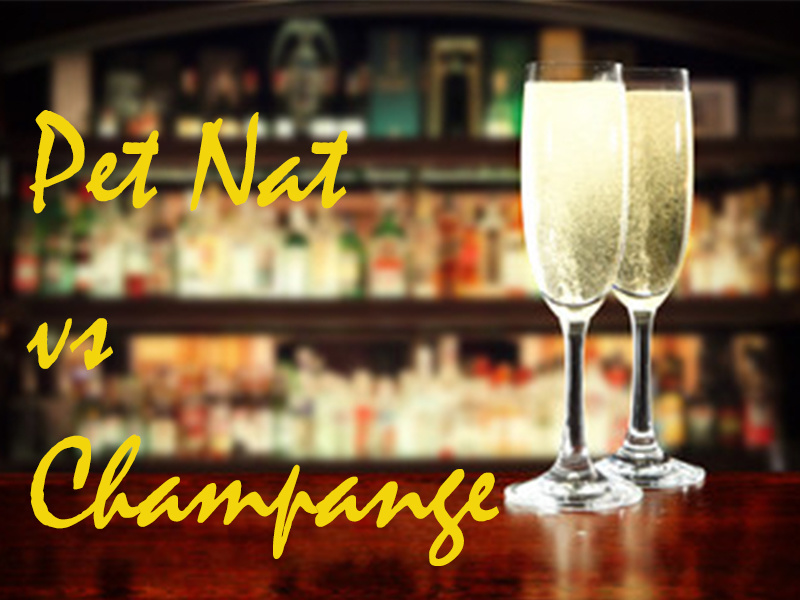 The Differences Between Pét-Nat and Champagne