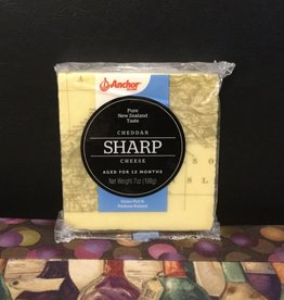 Cheese Anchor Sharp Cheddar Pure New Zealand 7oz