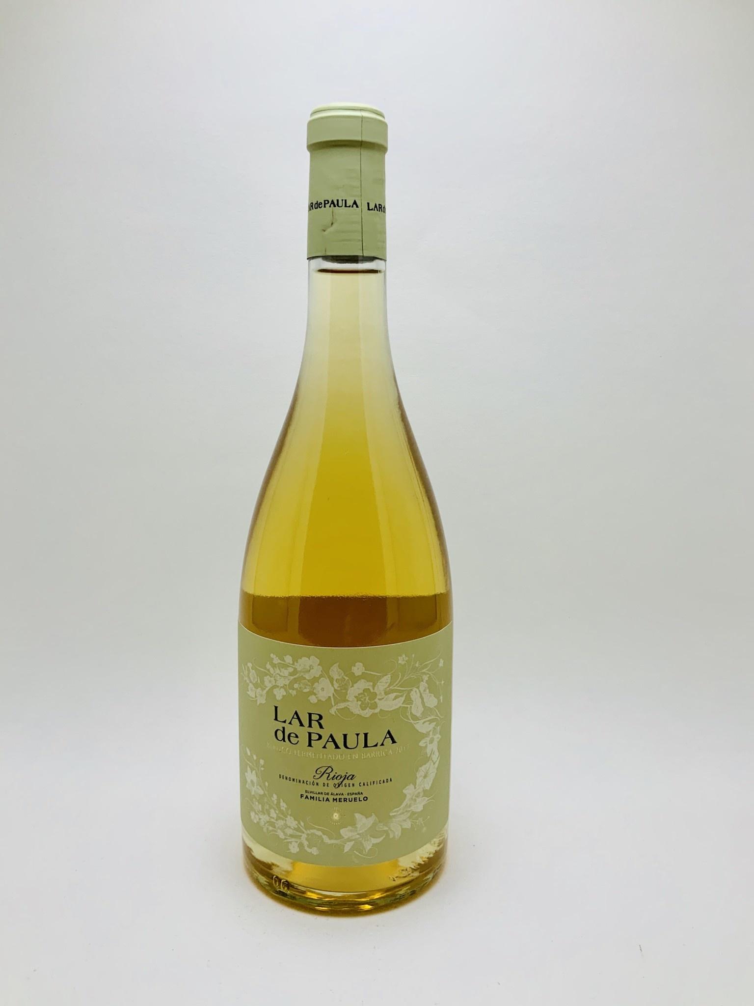 Bodegas Heredad de Baroja Lar de Paula Blanco Rioja Spain 2017