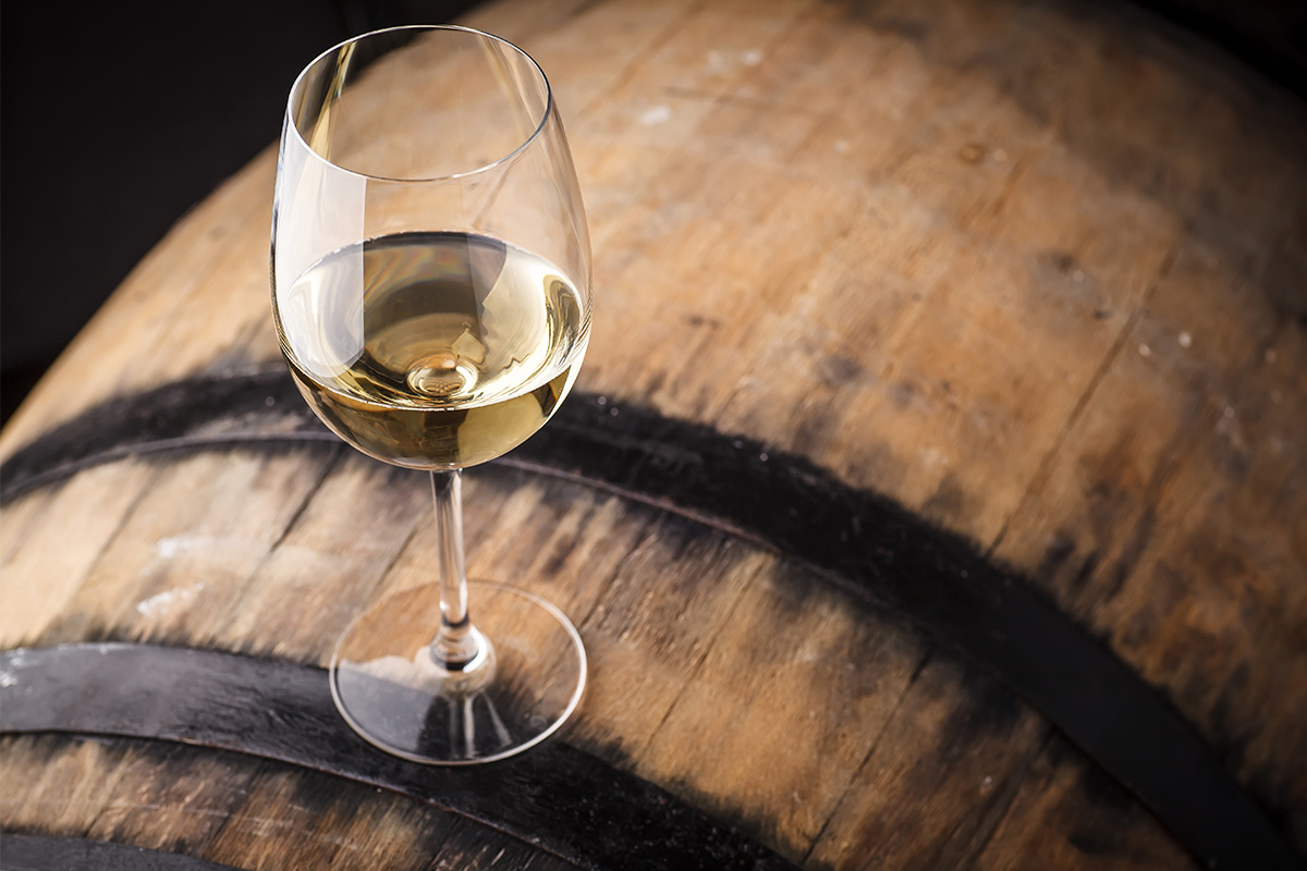Oak-Aged White Wines