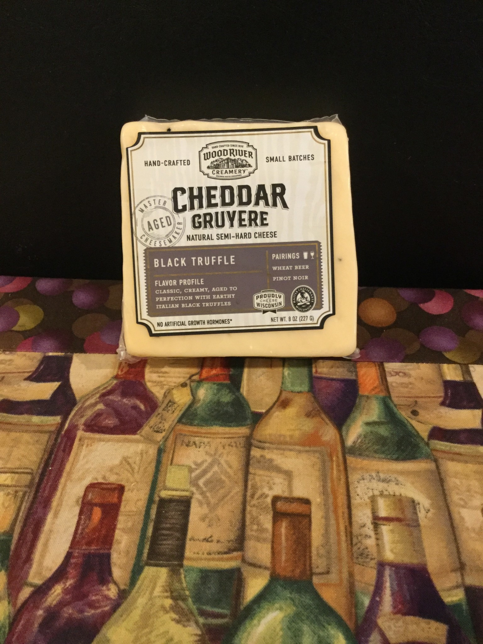 Cheese - BLACK TRUFFLE CHEDDAR GRUYERE