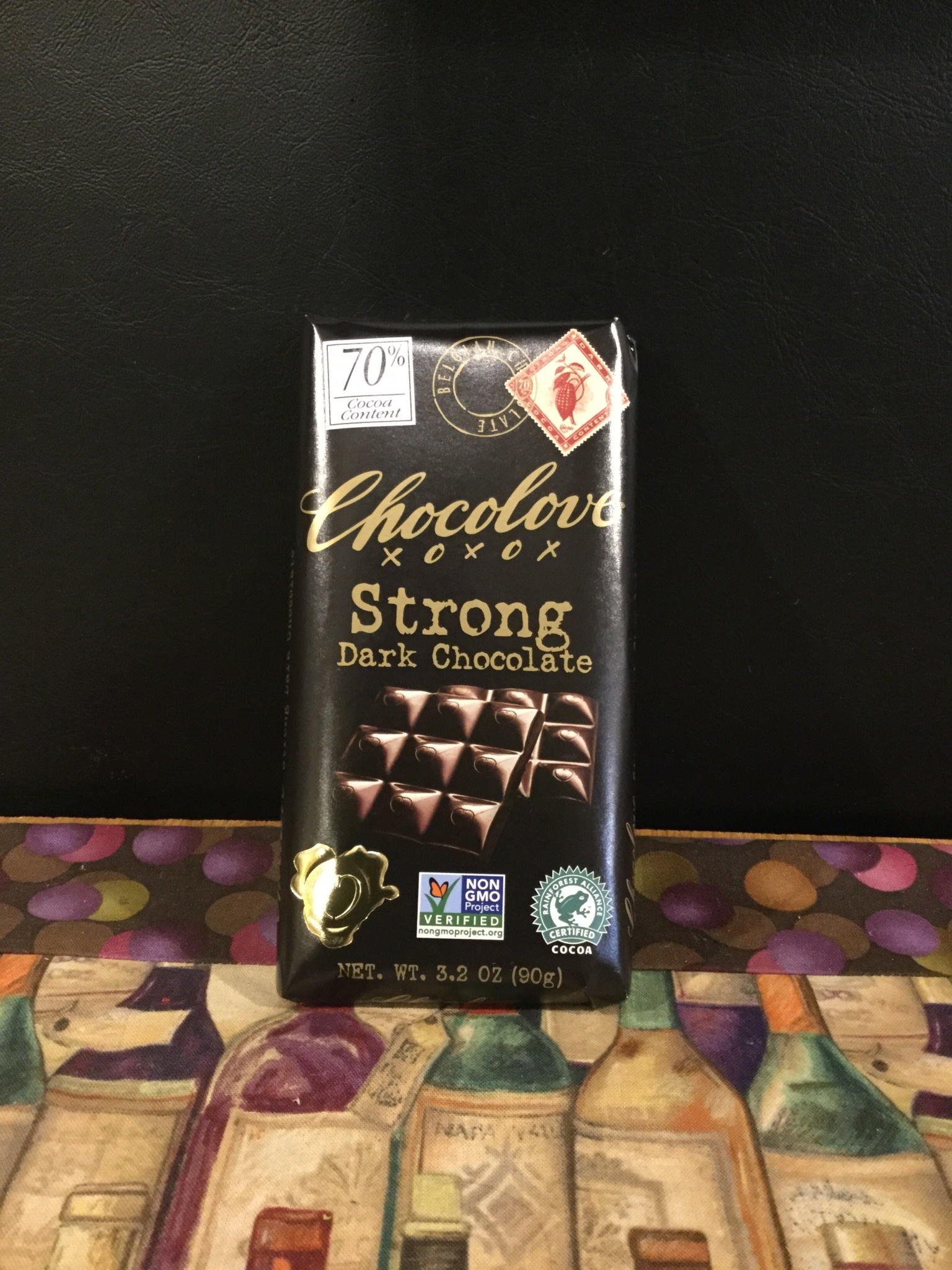 Chocolove Strong Dark Chocolate Bar
