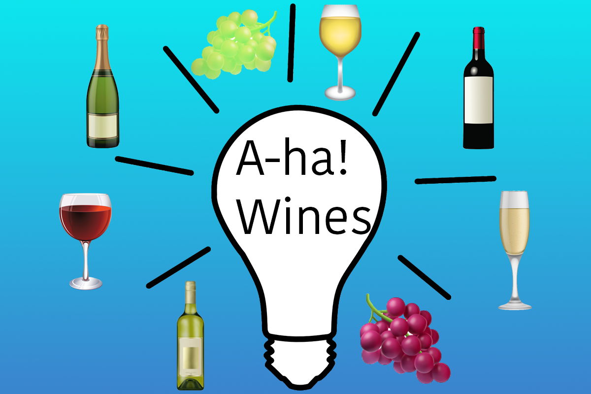 "100th Blog – An Ode to ""A-ha! Wines"""