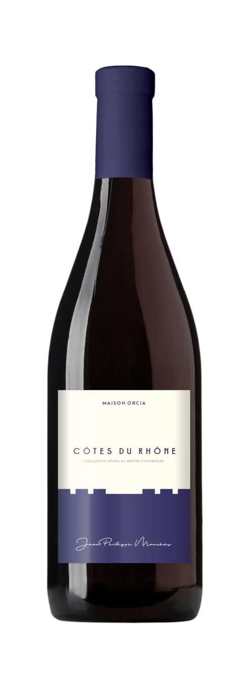 Maison Orcia Côtes du Rhône AOP France 2018