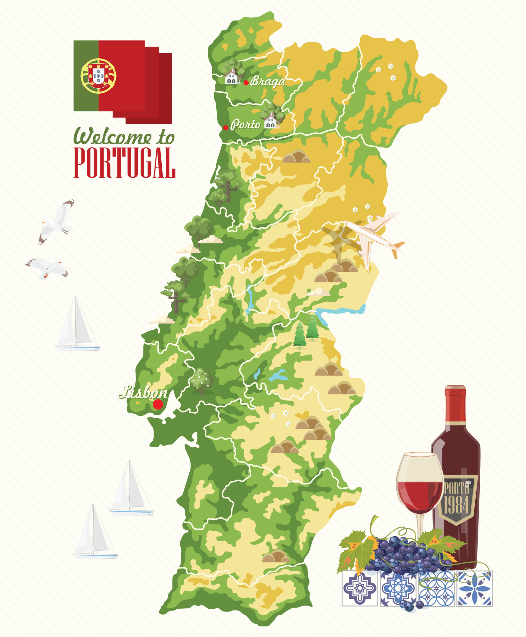 The Red Grapes of Portugal