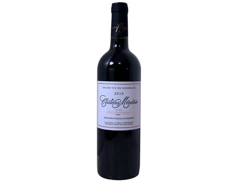 Château Mondésir Merlot Côtes de Bordeaux France 2016