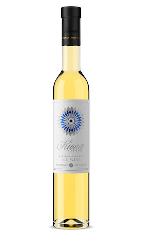 Kiona Vineyards Chenin Blanc Ice Wine Estate Grown Red Mountain Washington 2018