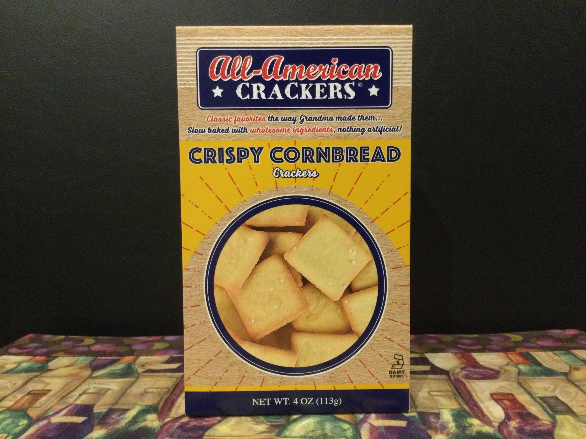 All American Snack Crackers Crispy Cornbread 4oz