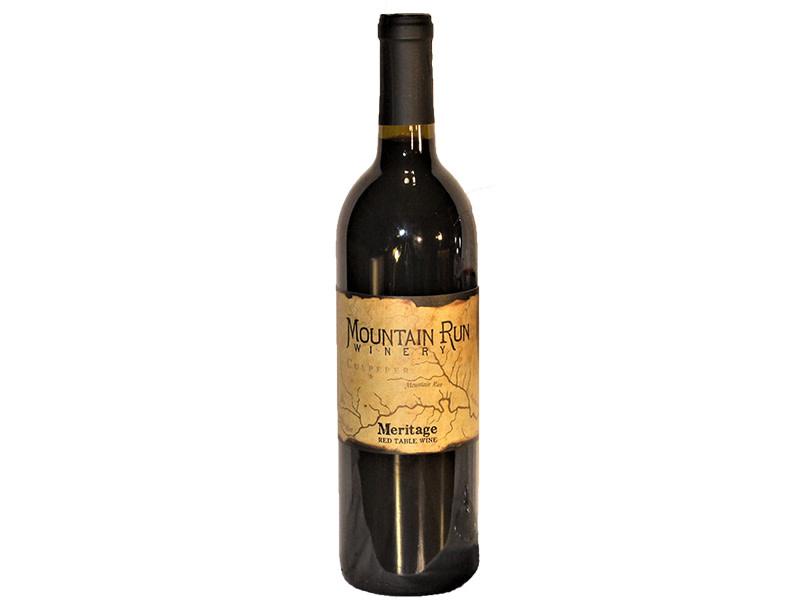 Mountain Run Winery Meritage Virginia 2016
