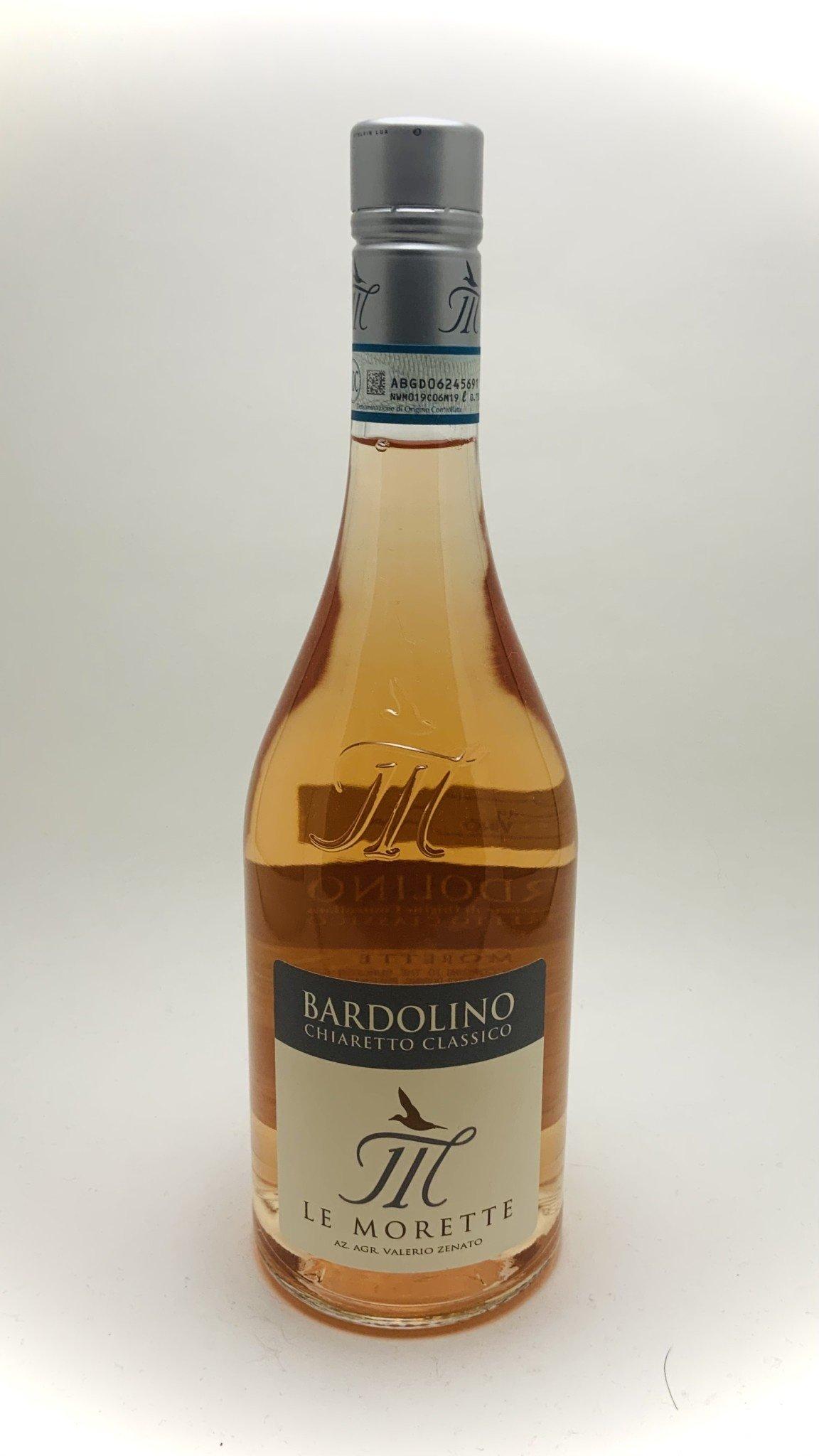 Le Morette Chiaretto Rosé Bardolino Veneto Italy 2018