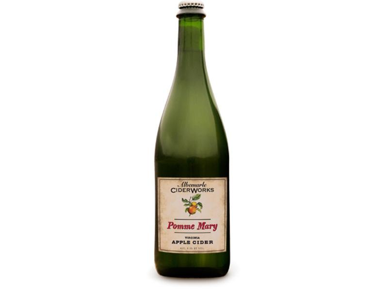 Albemarle CiderWorks Pomme Mary Virginia NV