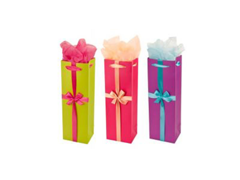 Wine Gift Bag Party Trio Assorted