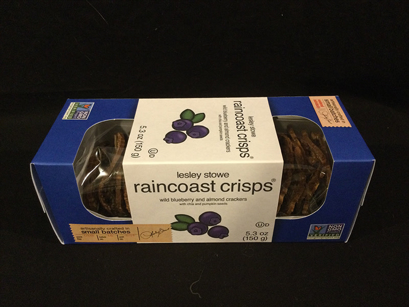 RAINCOAST CRISPS BLBERRY/ALMND  RAINCOAST NEW FLAVOR